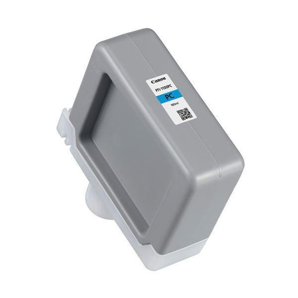 【送料無料】キヤノン インクタンクPFI-1100PC フォトシアン 160ml 0854C001 1個