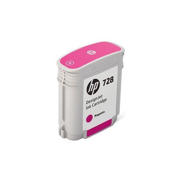 【送料無料】(まとめ)HP HP728 インクカートリッジマゼンタ 40ml F9J62A 1個【×3セット】