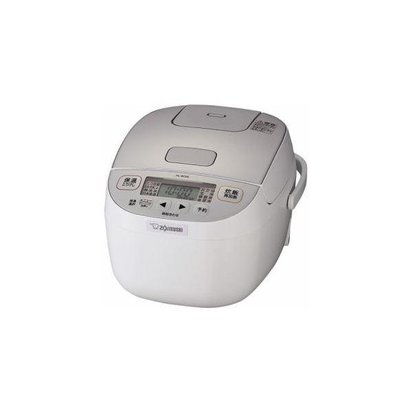 象印 小容量マイコン炊飯ジャー 3合炊き ホワイト NL-BC05-WA
