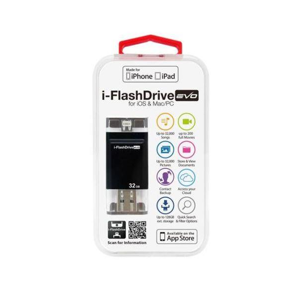 Photofast i-FlashDrive EVO for iOS Mac 格安店 LightningUSBメモリー 32GB IFDEVO32GB PC 至高 Apple社認定