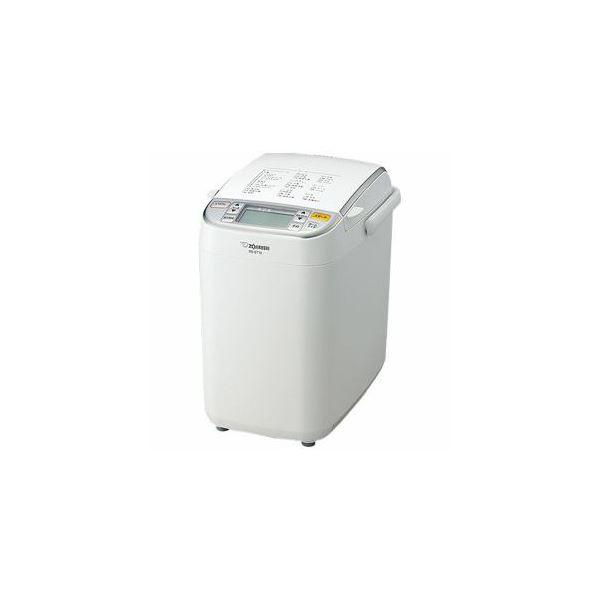 【送料無料】象印 ホームベーカリー 「パンくらぶ」(1斤) ホワイト BB-ST10-WA