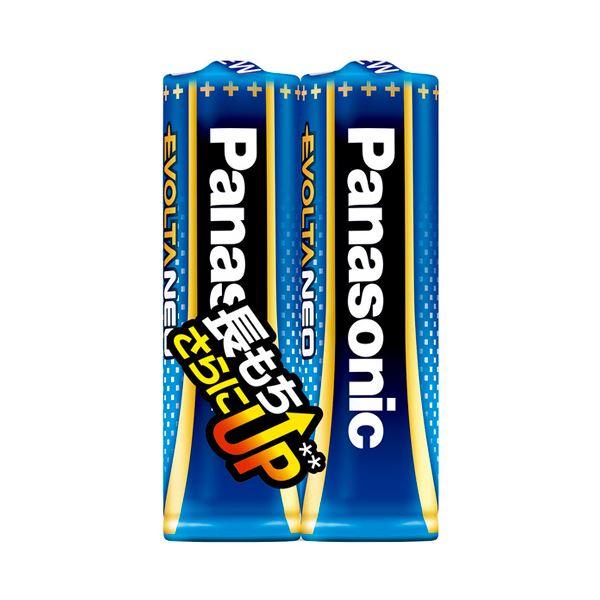 【送料無料】(まとめ) パナソニック アルカリ乾電池EVOLTAネオ 単3形 LR6NJ/2S 1パック(2本) 【×30セット】