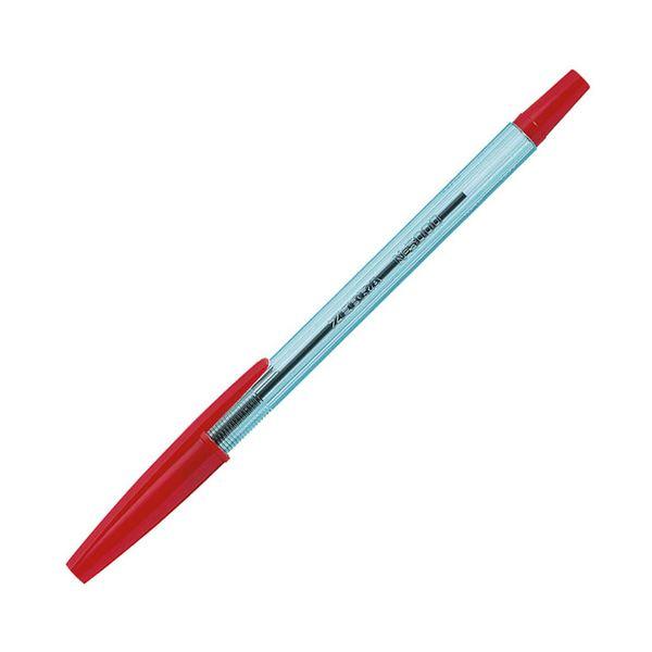 【送料無料】(まとめ) ゼブラ ニュークリスタル ケアS 0.7mm 赤 BNR1-R 1本 【×300セット】