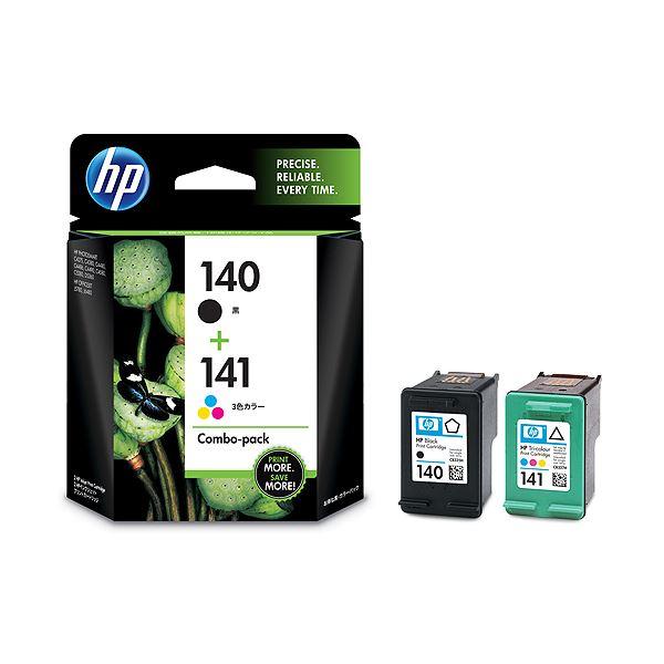 【送料無料】(まとめ)HP HP140/141プリントカートリッジ 黒・カラー CN711AA 1箱(2個:各色1個)【×3セット】