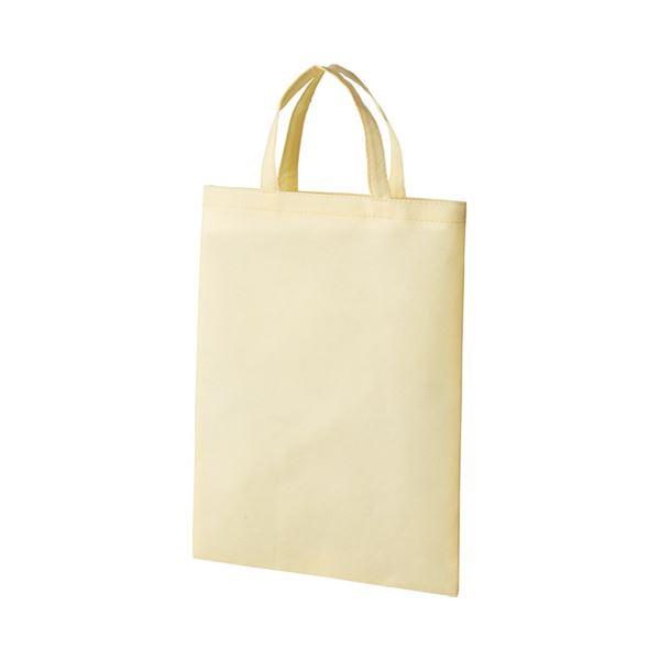【送料無料】(まとめ)スマートバリュー 不織布手提バッグA4マチ無 ベージュ B452J-BE【×30セット】