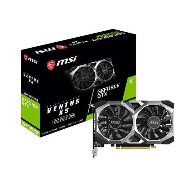 【送料無料】MSI GEFORCE GTX1650 SUPER グラフィックスボード GEFORCE GTX1650 SUPER VENTUS XS OC