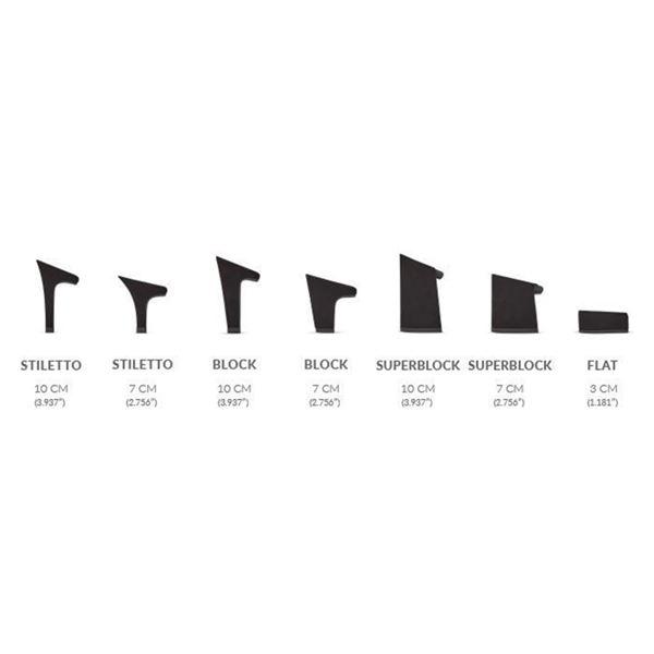 ヒール付け替え可能サンダル 婦人靴Denim Twirl Super Block 10cm ブルー系 41 28cm相当Mime et moi ミミ・エ・モイ13KlJcFTu