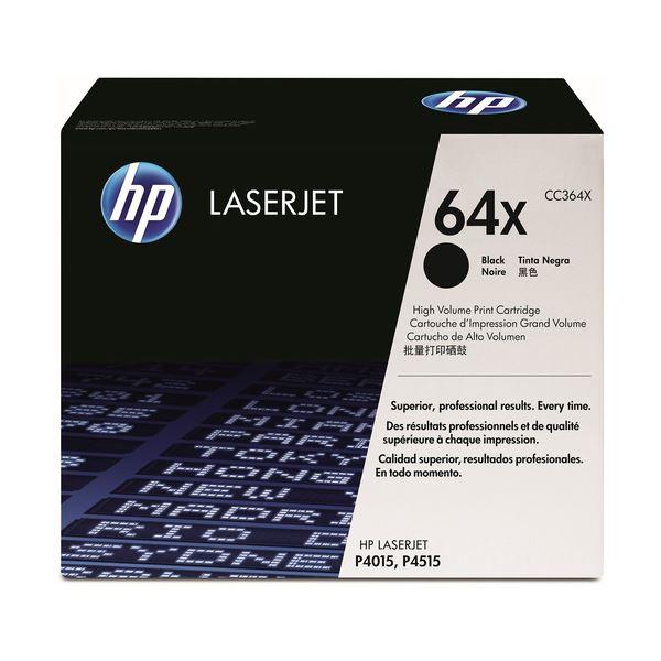 【送料無料】HP プリントカートリッジ 黒CC364X 1個