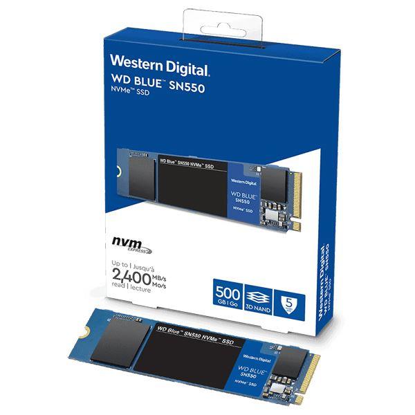 送料無料 WESTERN DIGITAL SSD WD Blue SN550 NVMeシリーズ 人気商品 500GB Read Max PCIe 2280 国内正規代理店品WDS500G2B0C 0718037-868752 注文後の変更キャンセル返品 Gen3 1750MB Write s M.2 2400MB