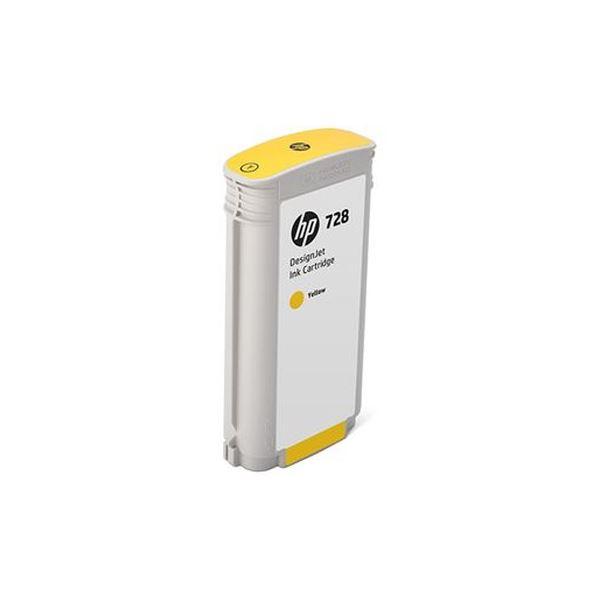 【送料無料】(まとめ)HP HP728 インクカートリッジイエロー 130ml F9J65A 1個【×3セット】