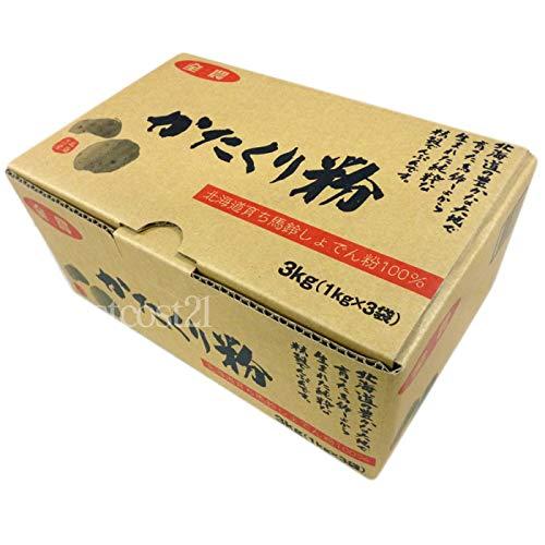 送料込み 送料無料 全農食品 片栗粉 3kg 1kgx3 業務用 北海道産 日本全国 大容量 コストコ 馬鈴しょでん粉 贈与