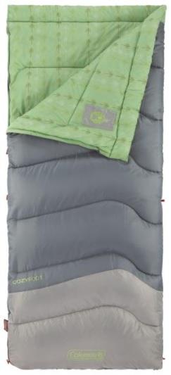 コールマン コージーフット 40 寝袋 快適使用温度4.4℃ Coleman Cozyfoot 40 Sleeping Bag  Comfortable Temperature 寝袋 シュラフ フリース 裏地 洗える 封筒型