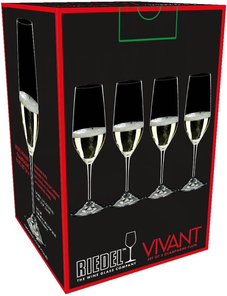 リーデル シャンパングラス 4本セット Riedel Vivant Champagne Flutes Set of 4 by Riedel Vivant グラス RIEDEL セットグラス ワイングラス