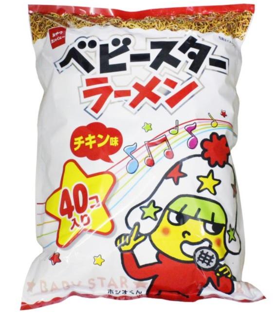 おやつカンパニー ベビースターラーメン 23g×40袋 BABY STAR RAMEN CHIKEN おやつ 間食 おつまみ シェア 大容量