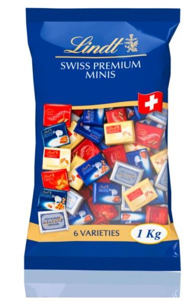 送料込み リンツ 出色 年中無休 ナポリタン チョコレート 1kg 大容量 Lindt