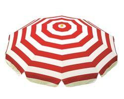 MZ5913197 ガーデンパラソル319赤白1850mm【テラモト】 03605274-001【03605274-001】[4904771261676][4904771261676]