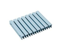MR0740253 樹脂グレーチング(プール用)250mm幅ブルー【テラモト】 03606590-001【03606590-001】
