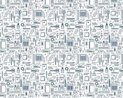 デジタルプリント壁紙 ポップ柄 p019 460mm×50m【アサヒペン】 03048339-001【03048339-001】[4549396483395][4549396483395]