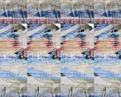 デジタルプリント壁紙 フェイク柄 F015 460mm×20m【アサヒペン】 03048195-001【03048195-001】[4549396481957][4549396481957]