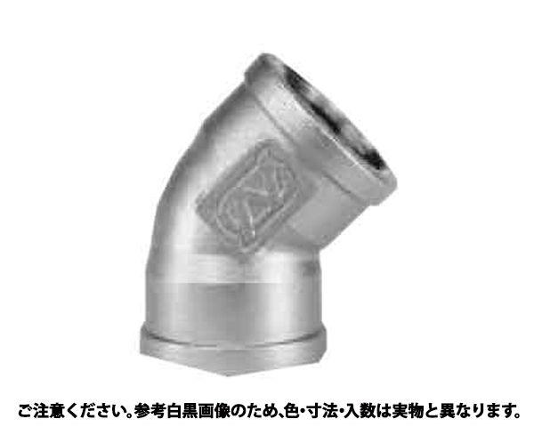 45ド エルボ(45L 材質(ステンレス) 規格(65A(2