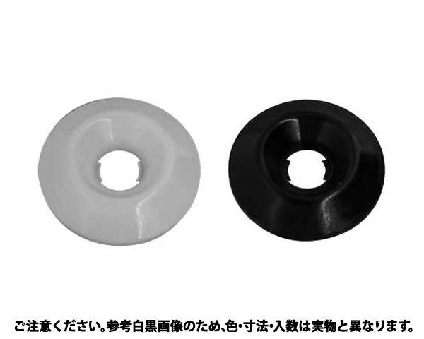 カザリワッシャー(007-3 表面処理(樹脂着色黒色(ブラック)) 規格(M6(サラヨウ) 入数(500) 04245282-001【04245282-001】[4549663532733][4549663532733]