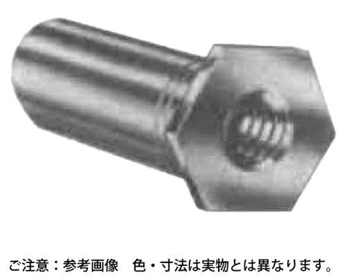 PEM スタンドオフ 材質(アルミ) 規格(SOA-M3-4) 入数(1000) 03497500-001【03497500-001】[4548325678222]
