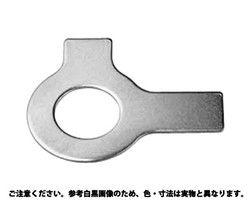 【送料無料】両舌付き座金 表面処理(ユニクロ(六価-光沢クロメート) ) 規格( M4) 入数(4000) 03586085-001