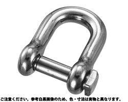 【送料無料】角頭シャックル水本機械製作所製 材質(ステンレス) 規格( QS-22) 入数(5) 03579387-001