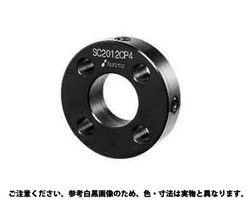 セットカラー 4穴付 表面処理(無電解ニッケル(カニゼン)) 材質(S45C) 規格(SC4020MP4) 入数(20) 03630134-001【03630134-001】[4548833304958]