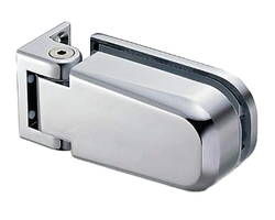 M815E10-14 ソフトクロージング機構付ガラスドア用丁番 M815E10型 壁取付タイプ【スガツネ工業】 03034912-001【03034912-001】