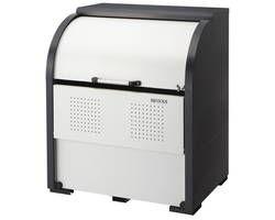 【送料無料】[メーカー直送][マンション配達不可][代引不可]クリーンストッカー スチール製 ゴミ置き場 CKR-1000-2 03108322-001