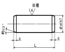 ヘイコウピン(Bシュ(ヒメノ 材質(ステンレス) 規格(1.5X22) 入数(1000) 04220118-001【04220118-001】