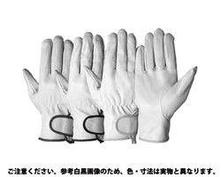 SIMON牛本革手袋 717P白  規格( Mサイズ) 入数(10) 04162204-001【04162204-001】[4549388068821]