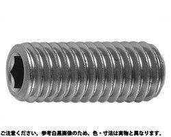 【送料無料】六角穴付き止めネジ(ホーローセット)(くぼみ先) 材質(SUS316L) 規格( 8 X 30) 入数(200) 03578601-001