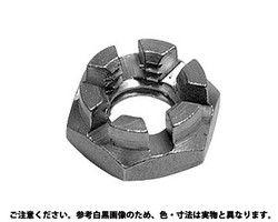 溝付ナット低形2種 表面処理(ユニクロ(六価-光沢クロメート) ) 規格( M24) 入数(40) 03578979-001