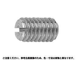 ECO-BS(-)止めねじ(平先 表面処理(ニッケル鍍金(装飾) ) 材質(黄銅) 規格( 4 X 6.0) 入数(500) 03666880-001