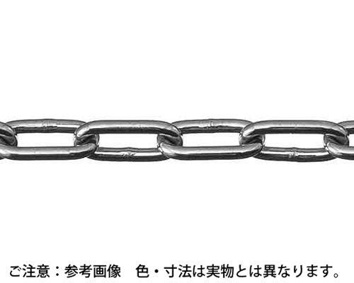 【送料無料】ヘビーリンクチェーン(30M 表面処理(塗装シルバー(銀色)) 規格( IW30E) 入数(1) 03645903-001