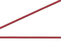 赤コーティングワイヤー100m巻【ニッサチェイン】 03101012-001