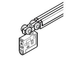 FD30-WRH-DSC-A ランプ印 引戸金物【スガツネ工業】 03034261-001【03034261-001】[]