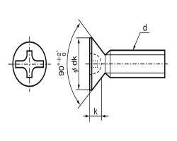 (+-)サラコ 表面処理(ニッケル鍍金(装飾) ) 規格(4X6) 入数(2000) 04192997-001【04192997-001】