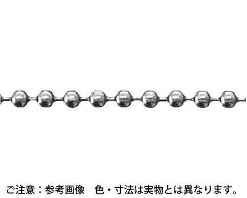 BS ボールチェーン(30M 表面処理(クローム(装飾用クロム鍍金) ) 材質(黄銅) 規格( BB15) 入数(1) 03538543-001【03538543-001】[4548325653465]