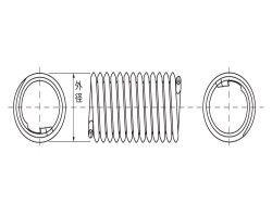 タングレスインサート 2TNM 材質(燐青銅(PB)) 規格(M5-1.5DP) 入数(100) 04223870-001【04223870-001】