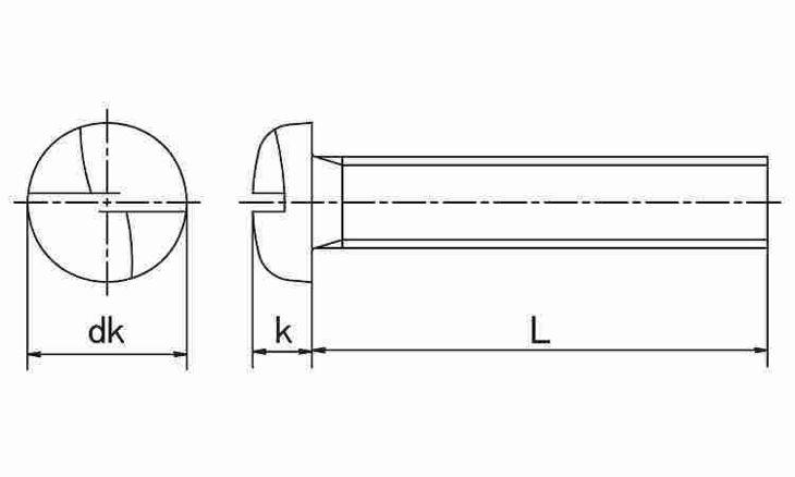 SUS ワンサイド・ナベコ 表面処理(ナイロック(泰洋産工、阪神ネジ) ) 材質(ステンレス(SUS304、XM7等)) 規格( 4 X 25) 入数(100) 04179052-001【04179052-001】[4549638515457]
