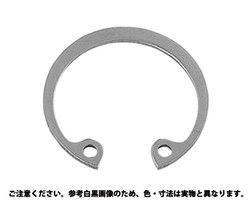 C形止め輪(穴用)太陽ステンレススプリング製 材質(ステンレス) 規格( M185) 入数(1) 03581385-001