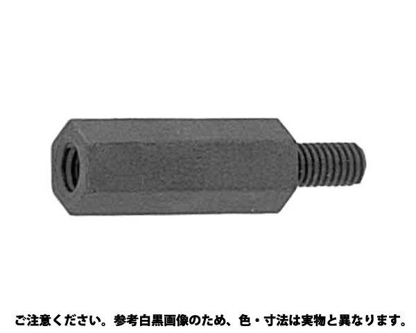 レニ-(黒)六角ポスト ■規格(3 X 8) ■入数1000 03505677-001【03505677-001】[4942131454511]