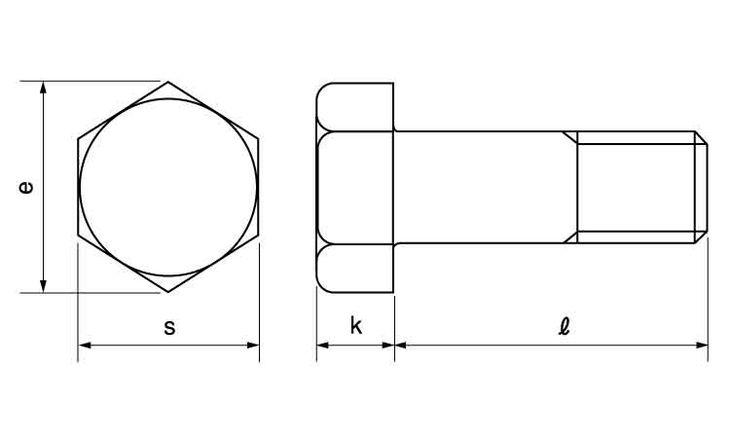 310S 6カクBT(ハン 材質(SUS310S) 規格(16X165) 入数(15) 04260538-001【04260538-001】[4549663778209][4549663778209]