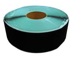 粘着付マジックテープ100ミリ巾X25m B面ループ黒【まつうら工業】 03865330-001【03865330-001】[4984834282237]