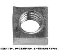 四角ナット 表面処理(ユニクロ(六価-光沢クロメート) ) 規格(M12(19X10) 入数(150) 04175294-001【04175294-001】[4549638464571]