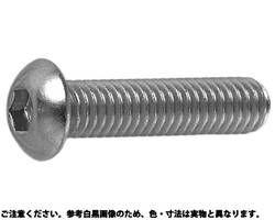 六角穴付きボタンボルト(ボタンキャップスクリュー)(JIS-B1174)日産ネジ製 表面処理(BK(SUS黒染、SSブラック)  ) 材質(ステンレス(SUS304、XM7等)) 規格( 6 X 8) 入数(500) 04173631-001【04173631-001】[4549638449158]