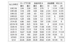 ロックEサート(UNC 材質(ステンレス) 規格(3/4X10-2D) 入数(100) 04170091-001【04170091-001】[4549638324851]